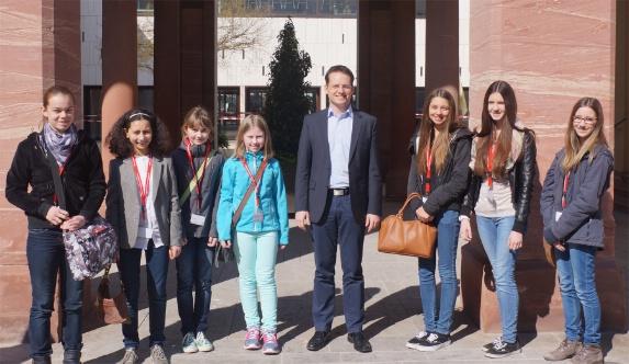 Girls Day mit Tobias Eckert