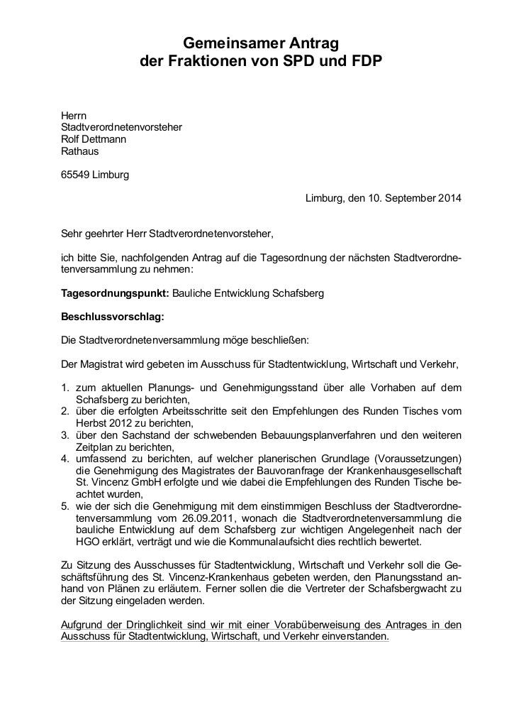 Gemeinsamer Antrag Schafsberg SPD-FDP-1
