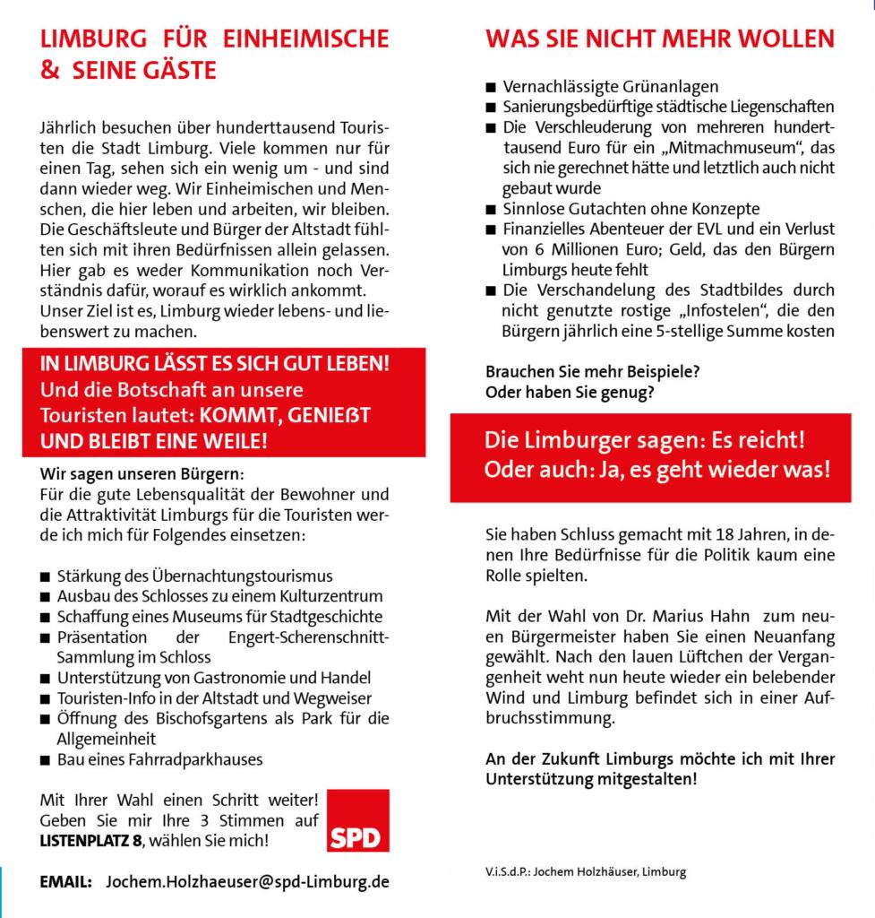 Jochem Holzhäuser Flyer Seite 3